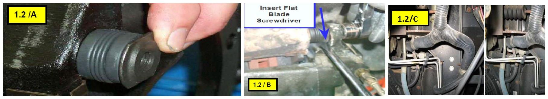 install brake caliper